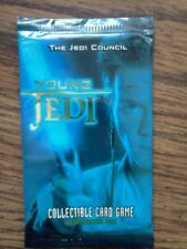 Star Wars Young Jedi CCG The Jedi Council Booster Pack Sealed Decipher