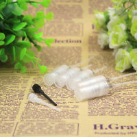 Hot 10x Mini 5ml Glass Refillable Perfume Empty Bottle Atomizer Pump Spray