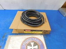 """NEW THERMOID REINFORCED BLACK 3/16"""" X 25' FUEL & OIL HOSE LINE HARLEY & CHOPPERS"""
