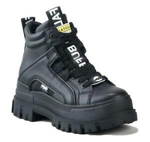 BUFFALO Aspha NC MID Sneaker con lacci vegan Colore Nera