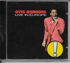 CD ALBUM LIVE 10 TITRES--OTIS REDDING--LIVE IN EUROPE