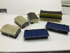 N Scale Buildings Sheds