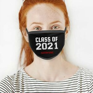 Personalised Designed Face Mask Cover Covering Customised with your text message