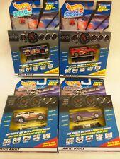 4 Hot Wheels CYBER RACERS...GRAN PRIX..GT RACER..SPORT UTILITY...MUSCLE CAR