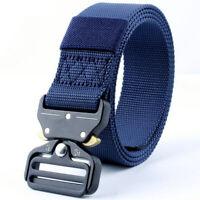 Men Quick Release Tactical  Utility Nylon Duty Belt Military Swat Security Belt