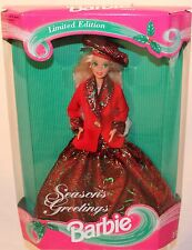 Barbie - SEASONS GREETINGS - Wholesale Exclusive - # 12384 - NRFB