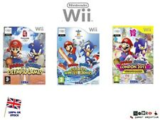 Wii Mario & Sonic Olympic Games / Winter / London 2012 Game Series  Wii & Wii U