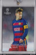 2015-16 TOPPS VAULT UEFA CHAMPIONS LEAGUE SHOWCASE LIONEL MESSI 1/1 PRINT PROOF