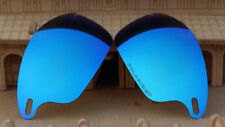 ACOMPATIBLE Polarized Lenses Replacement for-Oakley Fast Jacket Blue Mirror