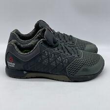 Reebok Crossfit Nano 4.0 Green Men's Running Shoes Low Top Sneakers Size 10 US