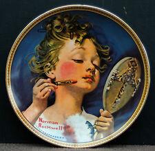 "Sammelteller - Zierteller by Norman Rockwell "" Making Believe at the Mirorr """