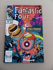 Fantastic Four  338 . Iron Man / Thor / Death's Head App . Marvel 1990 - VF
