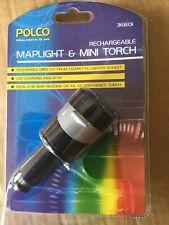 Coche cigarrillo encendedor Recargable Linterna Mini y MapLight.