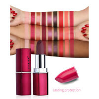 P/:Makeup Matte Lipstick wasserdichte langlebig Moisturizing Lip Gloss 12 Colors