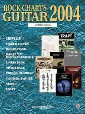 """""""ROCK CHARTS GUITAR"""" 2004 TAB EDITION MUSIC BOOK RARE OUT OF OF PRINT ON SALE!!"""