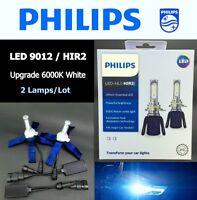Genuine PHILIPS Ultinon Essen. LED HIR2 9012 11012UE 6000K Light Bulb x 2 #UKgtc