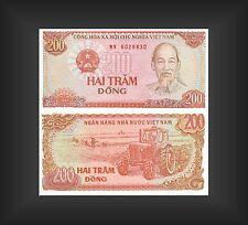 Banknote Vietnam 200 Dong 1987 - Top Erhaltung