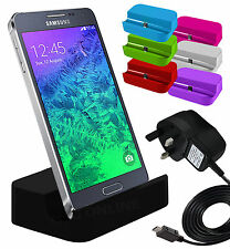 Micro USB Desktop Charging Dock Stand Charger & Mains Charger For Mobiles Sets