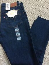 *RARE LEVI'S Original Fit 501 Skinny Leg Button Fly Jeans For Women SIZE 30X28