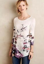 Anthropologie Knitted and Knotted – Morning Walk Sweater S Koi Fish