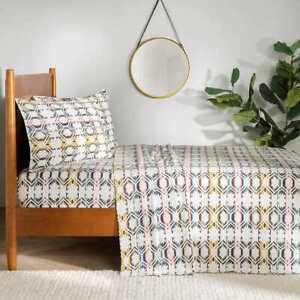 Pendleton 4-piece Flannel Sheet Set - WHITE SANDS (Select Size: Twin-Cal King)