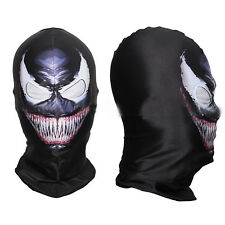 Man Spider-man Venom Mask Adult Halloween Party Accessory Full Face Cosplay Prop