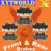Front Rear Brake Pads Honda VF1000 VF 1000 F