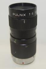 50mm f5 Pulnix Mini Bayonet Mount Camera Lens