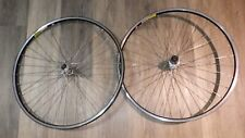 VINTAGE DEORE DX M650 / RITCHEY VANTAGE WHEELSET, 26 INCHES, 7S CASSETTE, USED