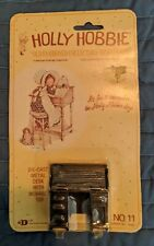 Holly Hobbie Die-Cast Metal ~ Desk with Movable Top ~ Dollhouse Size