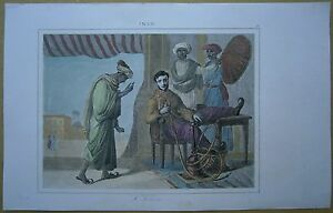 1845 print India: Greeting (#81)