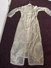 Anarkali Salwar Kameez Suit Wedding Jacket suit Jilbab Abaya size 12 14