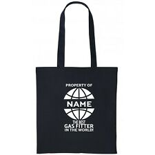 Gas Fitter Personalised Tote Bag Gift Birthday Christmas Add Name