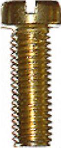 10 Miniaturschrauben Zylinderkopf DIN 84 Messing M 1.0 - 1.2 - 1.4 - 1.6