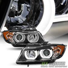 HID/Xenon 2006 2007 2008 BMW E90 3-Series Sedan LED 3D Halo Projector Headlights