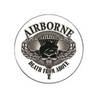 Army Airborne Golf Ball Marker