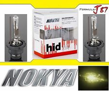 Nokya HID Xenon D2R 3300K Yellow Two Bulbs Head Light Low Beam Replacement OE