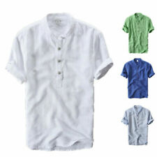 Camicie casual e maglie da uomo polo senza marca in cotone