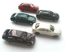 5 x  Model Cars Vehicles 1:100 HO TT Scale Railway Layout Architecture Toy NEW
