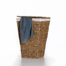 """Casa Mina Wäschekorb Wäschebox Wäschesammler aus Wasserhyazinthe """"Brunei"""" 50cm"""