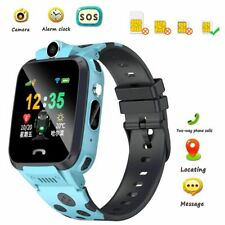 Anti-lost Safe GPS Tracker SOS Call Kids Smart Watch 2G Phone For Samsung A9 A8