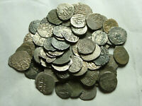 Rare genuine Islamic silver akce AKCE coin pendants Ottoman Empire not cleaned