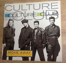Maxi 45 tours Culture Club move away (extended) synth-pop1986 EXC+