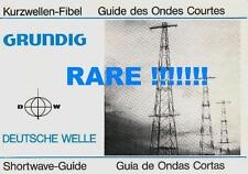 GRUNDIG SATELLIT - SHORT WAVE GUIDE  RECEPTION - RARE