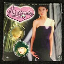 ALL BEAUTY Volume 1 Karaoke Laserdisc LD [G-01] 24 Songs