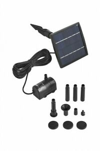 Pond H2o Solar Pond Pump, Panel & Fountain 39 GPH (150LPH), Pond & Water Feature