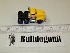969 Race Tech Support Speed Team Yellow Semi Truck Hot Wheels No Trailer