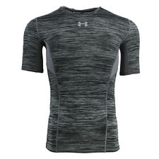 Under Armour Men's Heatgear CoolSwitch Compression T-Shirt Graphite Spacedye M