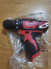 Brand New Milwaukee M12 Model 2407-20 M12 3/8 Drill / Driver - Bare Tool Only