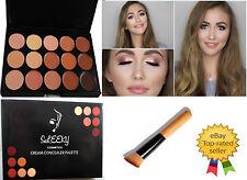 New15 Colori Tavolozza di correttori # 2 con Pennello Viso Makeup CONTOUR CREMA, CL2